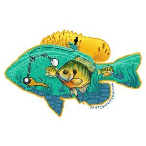 Panfish Nation Decal