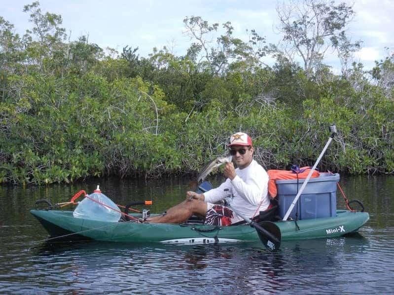 Kayak Fishing South Florida